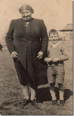 My Dad and his Granny, Isabella Birrell