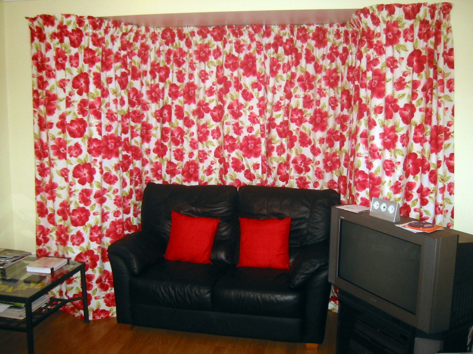 Completed Curtains